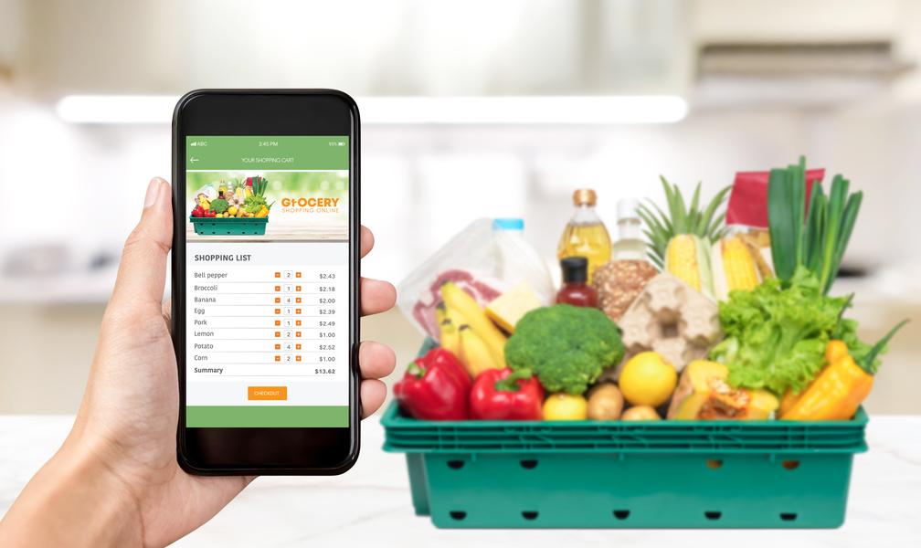 O E-Grocery além da tendência